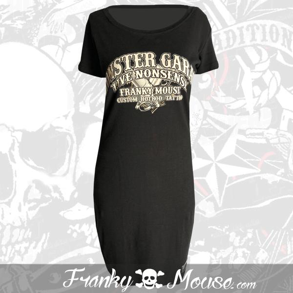 T-Shirt Dress Franky Mouse Monster Garage Hotrod