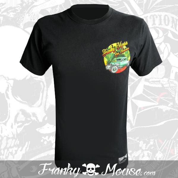 T-Shirt Franky Mouse Cubana Live Non Sense