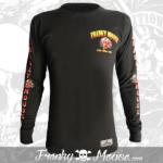 Long Sleeve T-shirt Franky Mouse Devil Hotrod