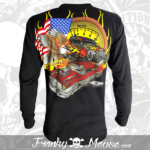 long-sleeves-franky-mouse-american-riders-noir-for-men-back