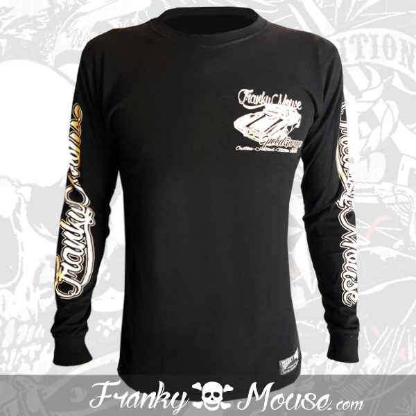 Long Sleeve T-shirt Franky Mouse Hot Road Tiger
