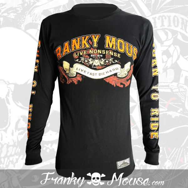 Long Sleeve T-shirt Franky Mouse Born to Die