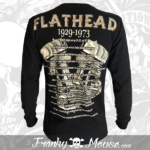 long-sleeves-franky-mouse-flathead-noir-for-men-back