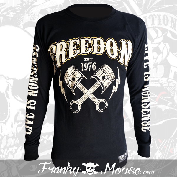 Long Sleeve T-shirt Franky Mouse Outlaw Freedom