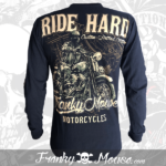 long-sleeves-franky-mouse-ride-hard-noir-for-men-back