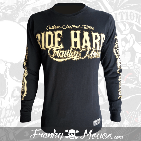 Long Sleeve T-shirt Franky Mouse Ride Hard