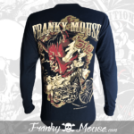 long-sleeves-franky-mouse-samourai-devils-noir-for-men-back