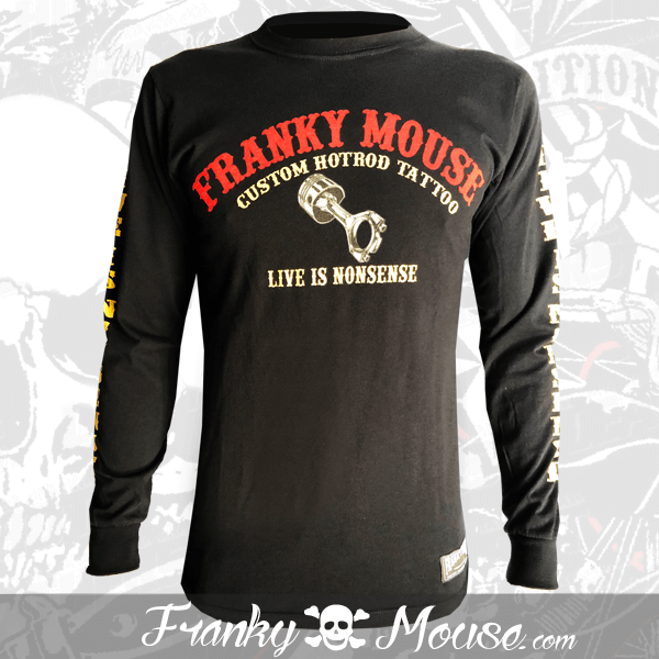 Long Sleeve T-shirt Franky Mouse Wing of Road