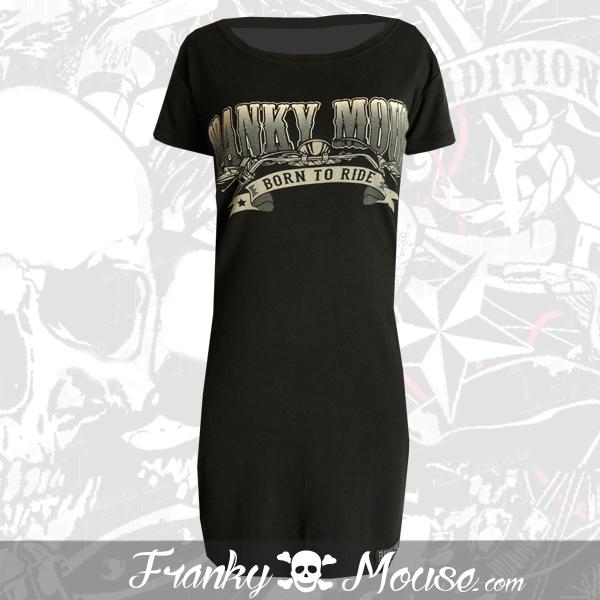 T-Shirt Dress Franky Mouse Guaranteed Nonsense