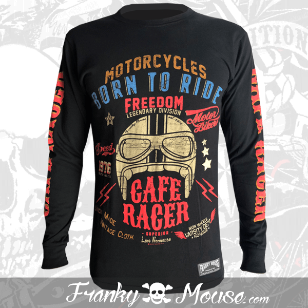 Long Sleeve T-shirt Franky Mouse Legendary Division