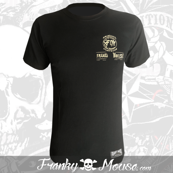 T-Shirt Franky Mouse Don't Mess with Bikers