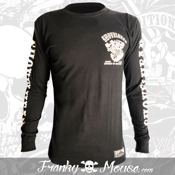 Long Sleeve T-shirt Franky Mouse Legend Of Machine