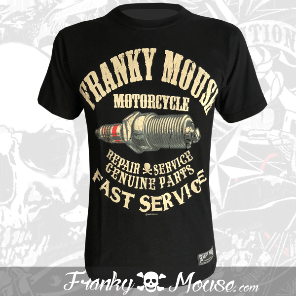 T-Shirt Franky Mouse Genuine Fast Service