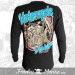 t-shirt-biker-franky-mouse-vintage-non-sense-black-for-men-back