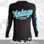 Long Sleeve T-shirt Franky Mouse Vintage Motorcycle