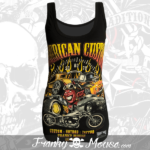 Tank Top For Women Franky Mouse Amercian Hotrod