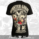 top-biker-franky-mouse-black-custom-hotrod-back