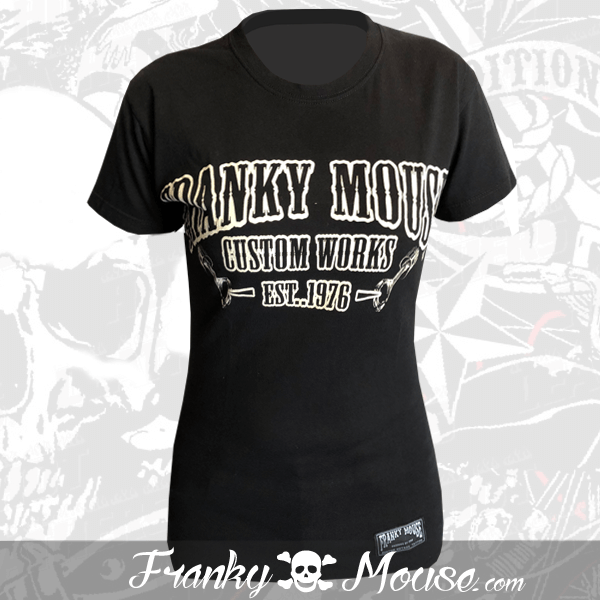 T-shirt For Women Franky Mouse Custom Work
