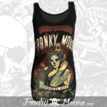 Tank Top For Women Franky Mouse Born To Be Wild