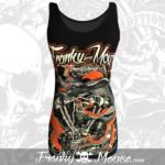 top-biker-franky-mouse-dragon-head-black-for-women-back