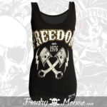 Tank Top For Women Franky Mouse Freedom