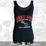 Tank Top For Women Franky Mouse Custom Hotrod