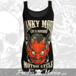 Tank Top For Women Franky Mouse Devils Motors