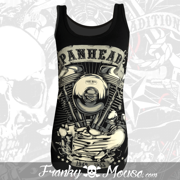 Tank Top For Women Franky Mouse Panhead Motors