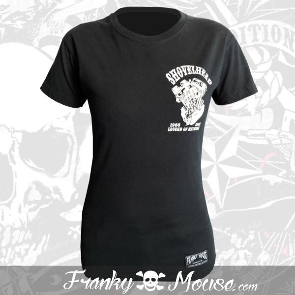 T-shirt For Women Franky Mouse Shovel Head