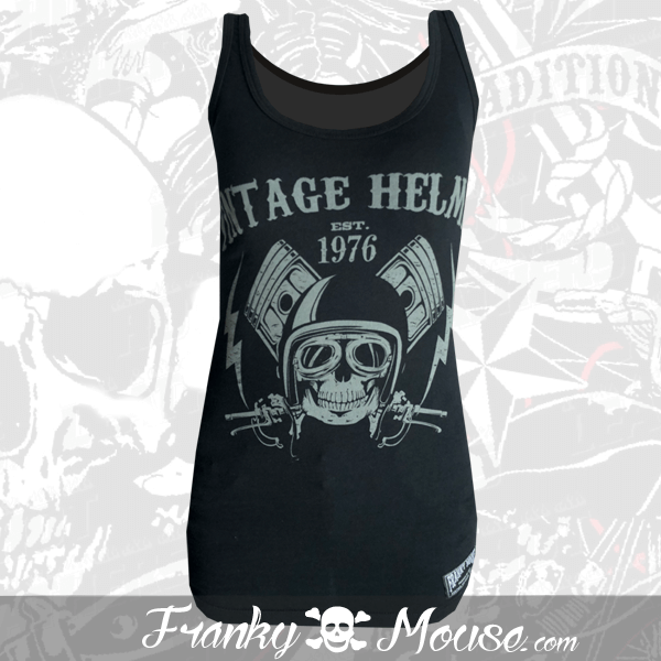 Tank Top For Women Franky Mouse Vintage Slulls