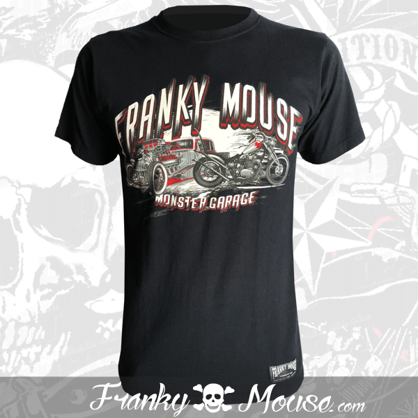 T-Shirt Franky Mouse Born To Be Wild Cubana