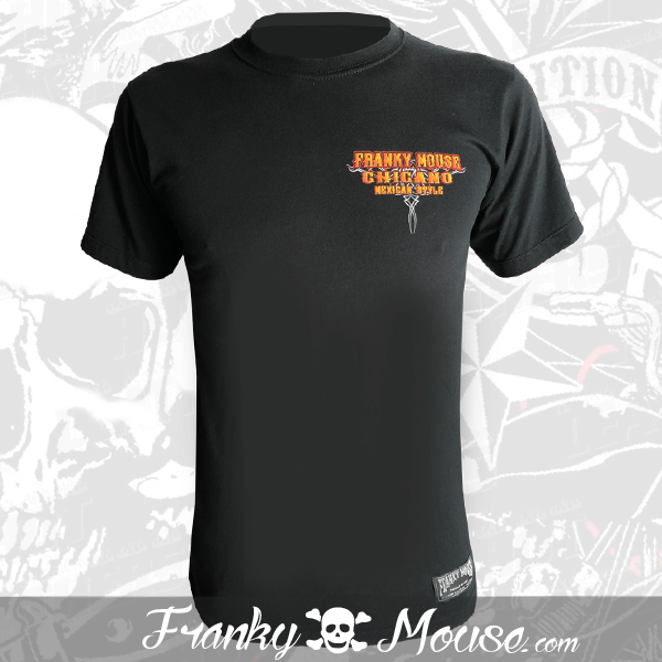 T-Shirt Franky Mouse Chicano Mexican Style