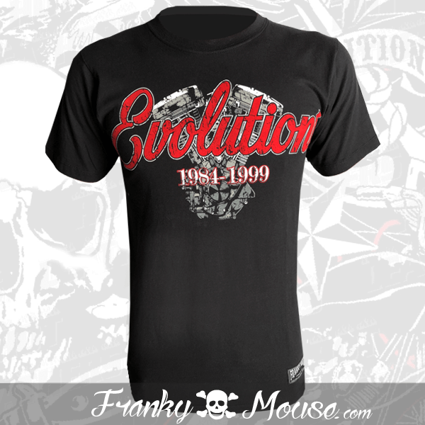 T-Shirt Franky Mouse Evolution King Of The Road