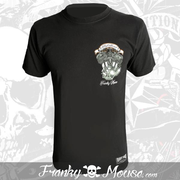 T-Shirt Franky Mouse Original Flat Head Motors