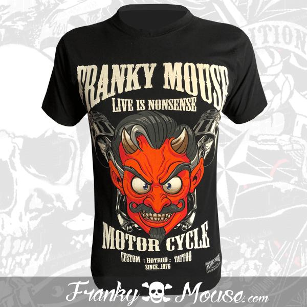 T-Shirt Franky Mouse Custom Hotroad Tattoo Devils