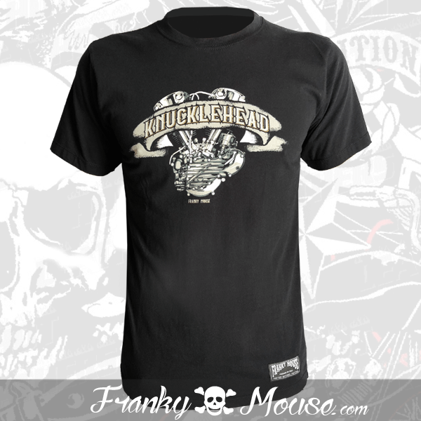 T-Shirt Franky Mouse Knuckle Head Motor