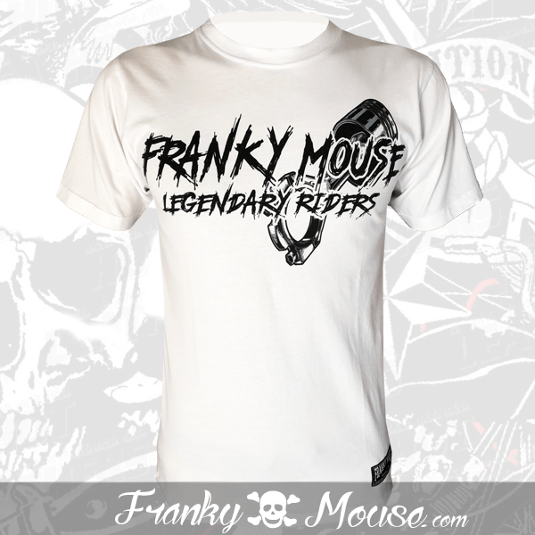 T-Shirt Franky Mouse Don't Ride Legendary Riders