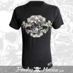 T-Shirt Franky Mouse Live Non Sense Motorcycle