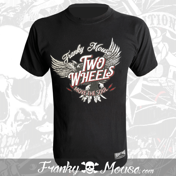 T-Shirt Franky Mouse Move The Soul Two Wheels