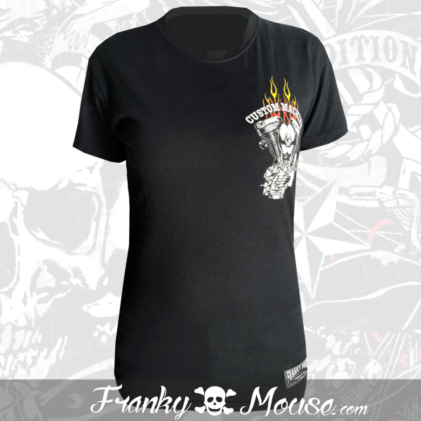 T-shirt For Women Franky Mouse Custom Machine