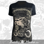 T-shirt For Women Franky Mouse Custom Tattoo