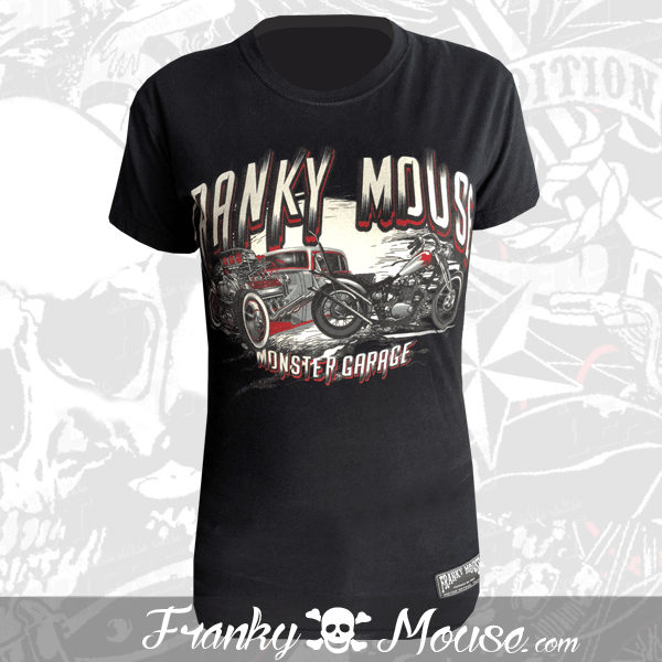 T-shirt For Women Franky Mouse Day Of The Dead