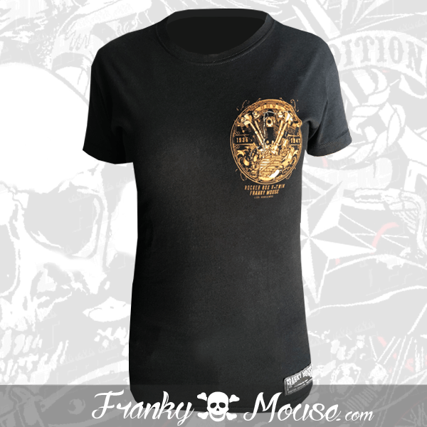 T-shirt For Women Franky Mouse Rocker Box
