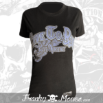 T-shirt For Women Franky Mouse Live To Ride Fast