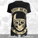 T-shirt For Women Franky Mouse Live Fast Die Hard