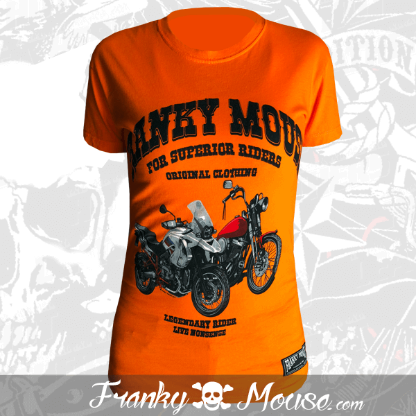 T-shirt For Women Franky Mouse Superior Riders