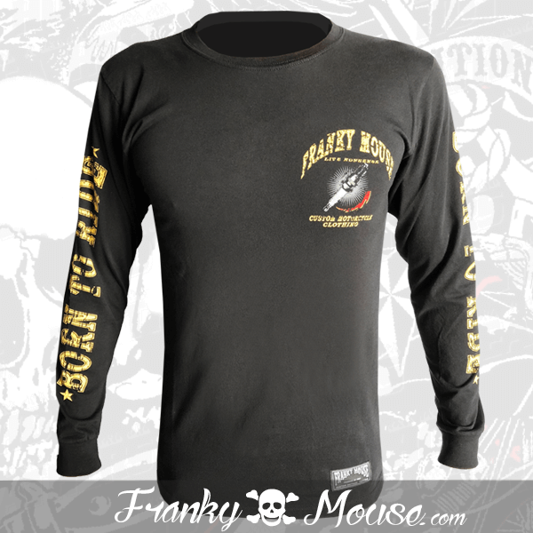 Long Sleeve T-shirt Franky Mouse Special Custom
