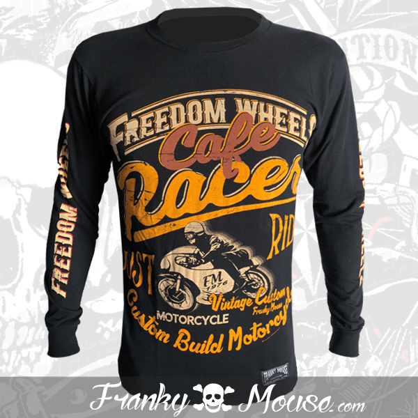 Long Sleeve T-shirt Franky Mouse Freedom Wheels