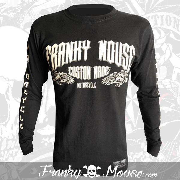 Long Sleeve T-shirt Franky Mouse Live Fast Die Old
