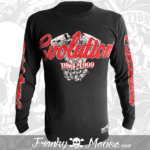 Long Sleeve T-Shirt Franky Mouse Evolution Engines